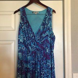 JLo multicolor long dress